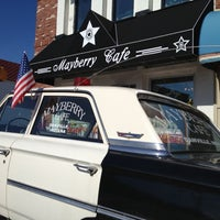 Photo taken at Mayberry Cafe by Dan F. on 10/21/2012
