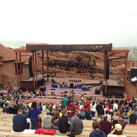 Photo taken at Red Rocks Park & Amphitheatre by Bill A. on 6/6/2013