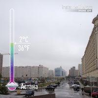 10/4/2013 tarihinde Александр Л.ziyaretçi tarafından Park Inn by Radisson Astana'de çekilen fotoğraf