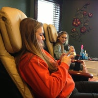 Photo taken at Serendipity Day Spa by Stacy K. on 3/19/2013