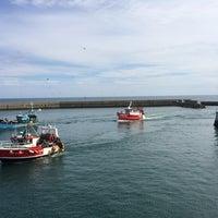 Photo taken at Port du Guilvinec by Jonathan N. on 8/7/2014