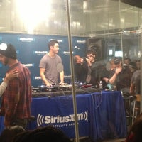 Photo taken at SiriusXM Studios by Elektro M. on 2/20/2013