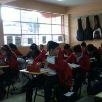 Photo taken at Colegio Fray Pedro de Gante by Marisol Itzel G. on 2/13/2013