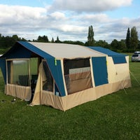 Photo taken at Drayton Manor Camping and Caravanning Club Site by Richard L. on 7/3/2013