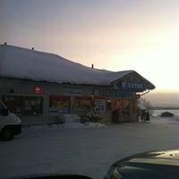 Photo taken at K-extra Eelin kauppa by Nea R. on 12/21/2012