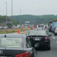 Photo taken at I-95 HOV Merge (The Merge) by Stephen L. on 5/9/2014