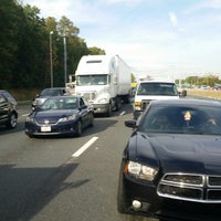Photo taken at I-95 HOV Merge (The Merge) by Stephen L. on 10/9/2014