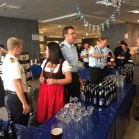 Photo taken at Aramark Restaurant NATO HQ by Nuno F. on 10/9/2014
