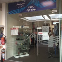 Photo taken at NATO Gift Shop by Nuno F. on 10/9/2014