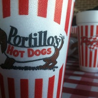 Photo taken at Portillo's Hot Dogs by J. E. on 9/28/2012