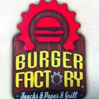 Photo taken at Burger Factory by Ruben G. on 11/25/2012