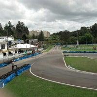 Photo taken at Kartódromo Internacional de Farroupilha by Marcos G. on 10/12/2012