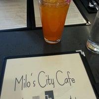 Photo taken at Milo's City Cafe by Jay L. on 4/1/2013