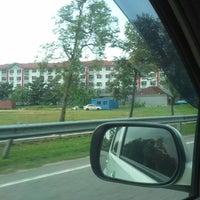 Photo taken at Persimpangan Bukit Beruang by Hasnah A. on 4/23/2013