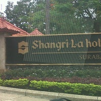 Photo taken at Shangri-La Hotel by Bagoes S. on 1/3/2013