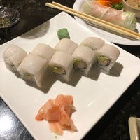 Photo taken at Sakura Asian Fusion Restaurant by Caroline A. on 5/26/2018