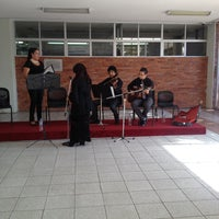 Photo taken at Universidad Latina de America by Erika V. on 4/11/2013