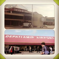 Photo taken at Depati Amir Airport (PGK) by Nurlia M. on 12/17/2012