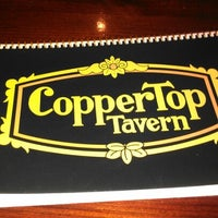 Photo taken at CopperTop Tavern by Ryan T. on 10/14/2012