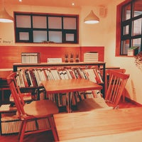 Photo taken at Book cafe 'The Story' by 상아 김. on 5/14/2016