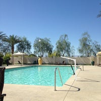 Photo taken at Eastside Cannery Pool by Chad R. on 5/4/2013