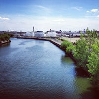 Photo taken at John Byrne-Greenpoint Avenue Bridge by Chris H. on 6/19/2013
