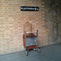 Photo taken at Platform 9¾ by Mikael V. on 7/28/2013