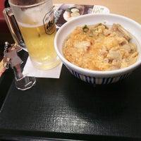 Photo taken at なか卯 広島大手町店 by HARUKA M. on 9/3/2016