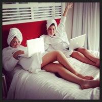 Photo taken at Surfers Paradise Marriott Resort & Spa by Karen B. on 1/9/2013
