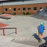 Photo taken at Amherst Skatepark by Rob B. on 7/5/2013