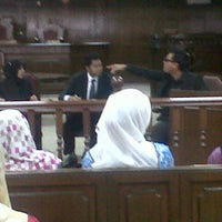 Photo taken at Moot Court by Ahmad H. on 10/22/2013
