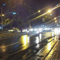 Photo taken at Shelter Busway Setiabudi by Miki A. on 12/21/2012