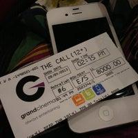 Photo taken at Grand Cinemas by Doodi A. on 4/28/2013