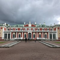 Photo taken at Kadriorg Palace by Fatih A. on 6/26/2017