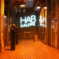 Photo taken at HAB Galerie by Marie V. on 3/21/2013