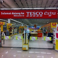 Photo taken at Tesco Extra Seremban Jaya by Ethan T. on 5/11/2013