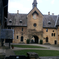 Photo taken at Abbaye Notre-Dame d'Orval by Kristine on 3/29/2013