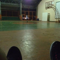 Photo taken at Marcelo Basketball Gym by Gerald G. on 1/19/2014