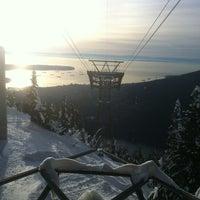 Photo taken at Grouse Gondola by Greg G. on 1/3/2013