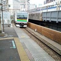 Photo taken at Shimbashi Station by 和彩 on 2/17/2013