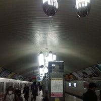 Photo taken at Yodoyabashi Station by 和彩 on 3/15/2013