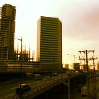 Photo taken at Yellow Line - Quezon Avenue Station by John S. on 1/25/2013