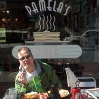 Photo taken at Pamela's P&G Diner by Erin O. on 9/20/2012