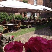 Photo taken at Restaurant De Prinsenkelder by Wil M. on 7/18/2014