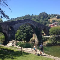 Photo taken at Cangas de Onís by Silvia M. on 7/17/2016