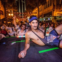 Photo taken at WaiTiki Retro Tiki Lounge by Wall Street Plaza on 11/22/2013