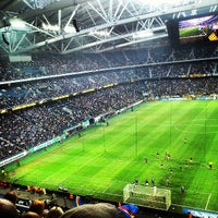 Photo taken at Friends Arena by Karl R. on 5/22/2013