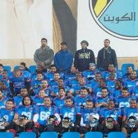 Photo taken at تمرين الوحوش- مركز شباب القادسية by khaled a. on 2/18/2014