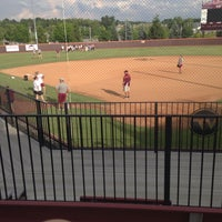 Photo taken at Tech Softball Park by Erin N. on 6/24/2014