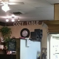 Photo taken at Cozy Table Restaurant by Lori H. on 10/26/2012